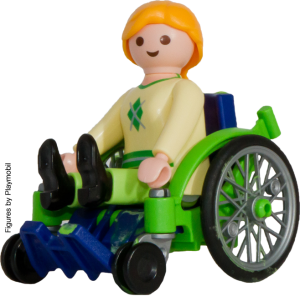 green-wheelchair